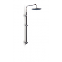 Roca Jetset Connectable Shower Column with Square Shower Head